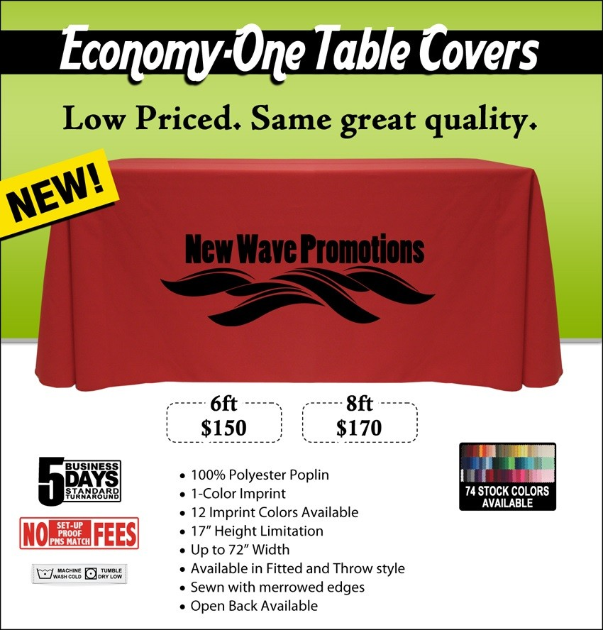 Enhance Your Image with these New Affordable Table Covers